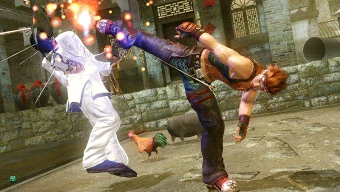 Hwoarangs Kampfstil glänzt vor allem durch eindrucksvolle Tritte.