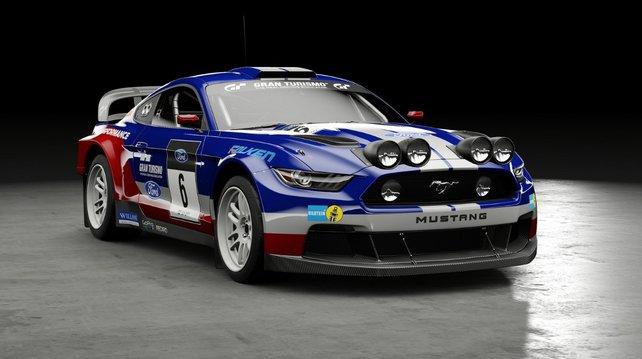 Vorbesteller-Boni: Ford Mustang Group B Rally Car.