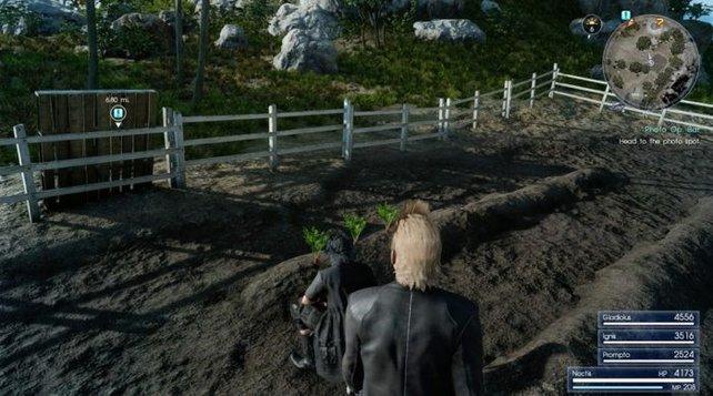 Wer hätte gedacht, dass ihr in Final Fantasy einmal Karotten ernten würdet?