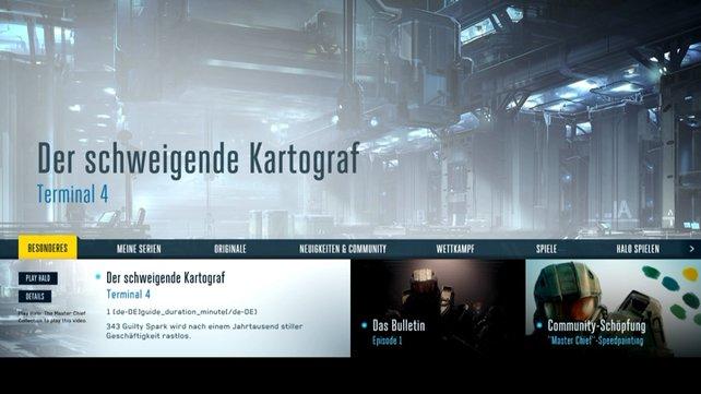 Der Halo Channel liefert Hintergrundinfos und neue Interaktions-Möglichkeiten.