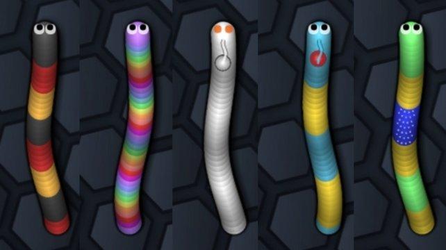 Insgesamt stehen euch 39 Skins für eure Schlange zur Verfügung