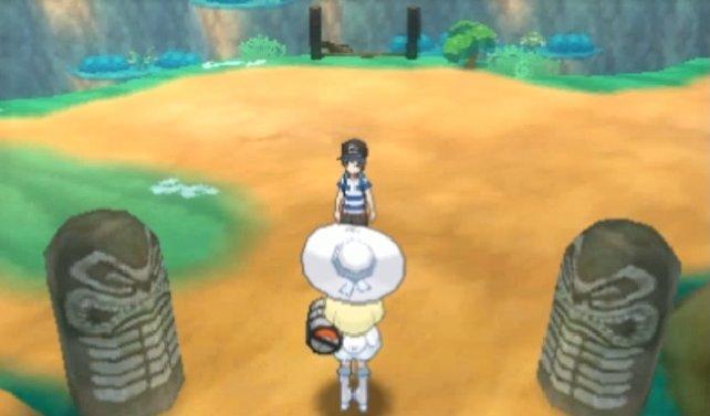 Ihr habt Lillys Pokémon gerettet und begleitet die Assistentin von Prof. Kukui zurück in die Stadt.