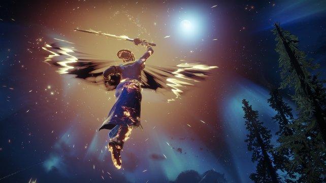 """Todesengel: Die """"Dämmerklinge"""" ist der neue Warlock-Fokus in Destiny 2."""