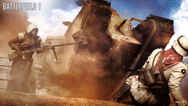 Battlefield 1: Panzerschlacht voraus!