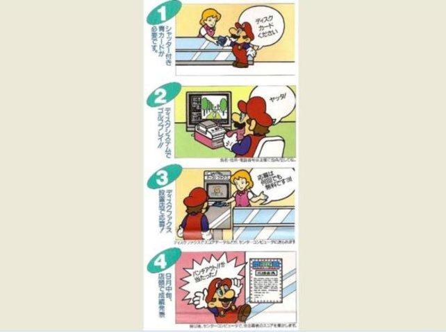 Mario erklärt es unmissverständlich: In bestimmten Läden stehen Faxgeräte, die die Daten auf den Disketten der Famicom-Spieler auslesen und an Nintendo weiterleiten.