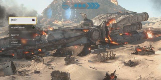 Die Schlachtfelder auf Jakku sind übersät mit Schiffswracks