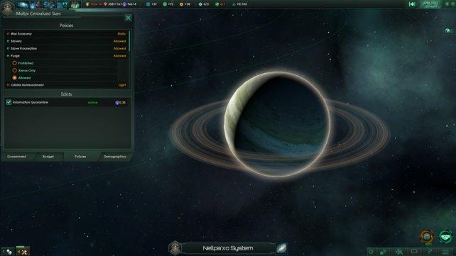 Erforscht so viele neue Planeten wie möglich.