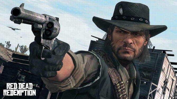 John Marston, der Protagonist von Red Dead Redemption, zielsicher wie immer.