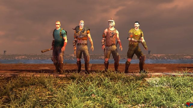 Eine Bande mit der Zombies nicht scherzen sollten!
