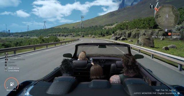 Nutzt die lange Fahrt und genießt den Ausblick.