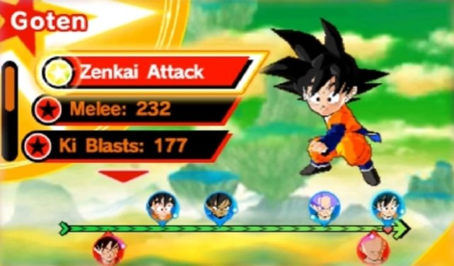 Die Zenkai-Attacke müsst ihr definitiv ausführen, wenn ihr neue Mitglieder für euer Team sucht.