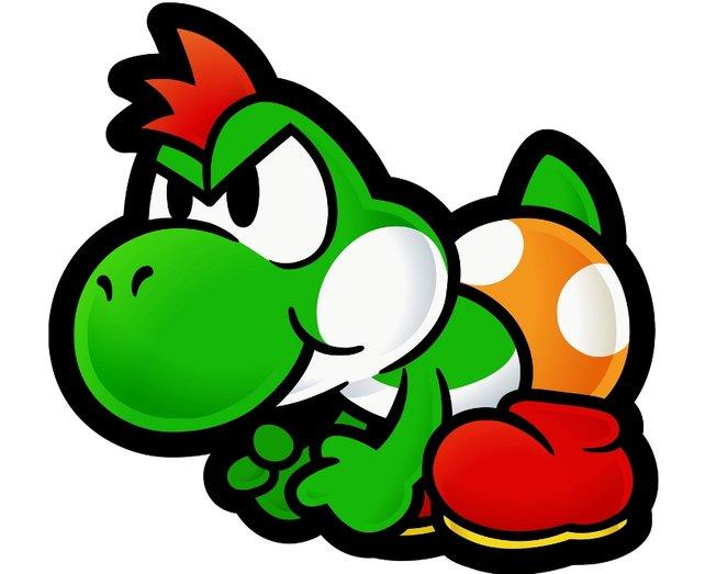 In den Mario-Rollenspielen kommen hin und wieder ein paar meist namenlose Yoshis vor. Die Lavalava-Insel ist eine der wenigen Yoshi-Hochburgen außerhalb der Dinosaurierinsel - auch wenn sie fast überall heimisch sind.