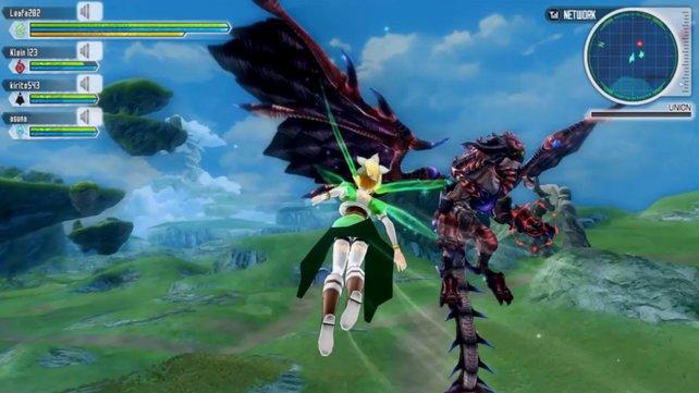 In Lost Song treibt es die Spieler in luftige Höhen, wo sie nicht nur geheimnsvolle Orte entdecken können, sondern auch Kämpfe gegen fliegende Gegner bestreiten müssen.
