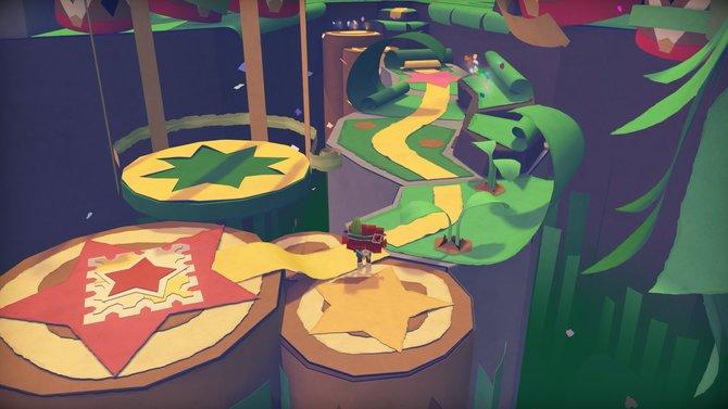 Tearaway Unfolded basiert auf dem gleichnamigen Vita-Hüpfspiel von 2013.