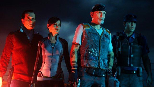 Die virtuellen Helden des neuen Zombie-Modus.