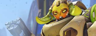 Panorama: Overwatch: Pro-Spieler w�hlt spontan die neue Heldin - und bekommt den Hintern versohlt