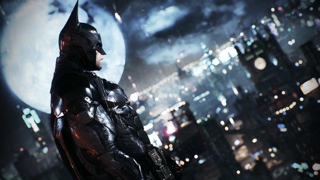 Grimmig schauen, das kann Batman richtig gut.