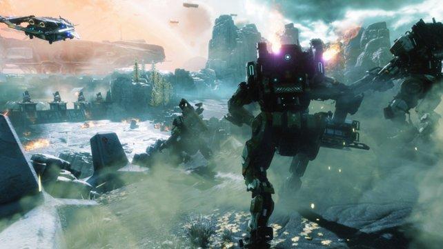 Titanfall 2 spielt zweifelsohne in der Zukunft.