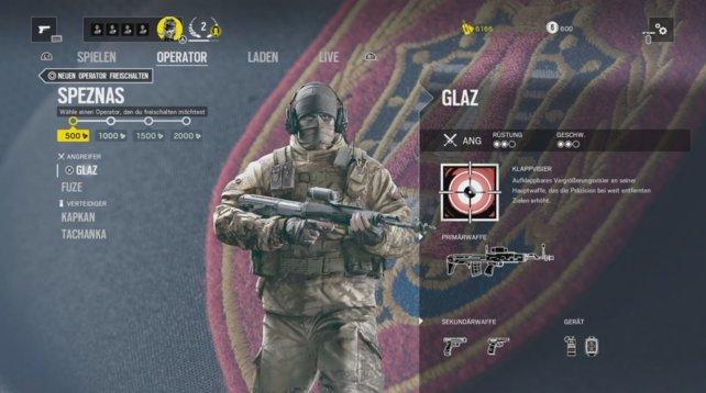 Operator Glaz