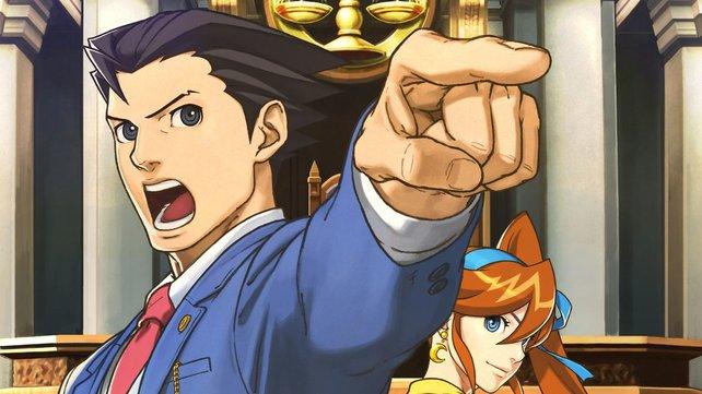 In Ace Attorney 6 wird der Zeigefinger wieder aus der Hosentasche geholt.