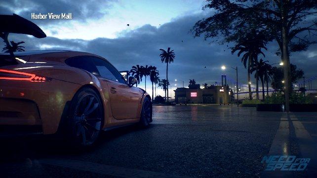 Unverwechselbar: Die schönen Kurven des Porsche GT3RS.
