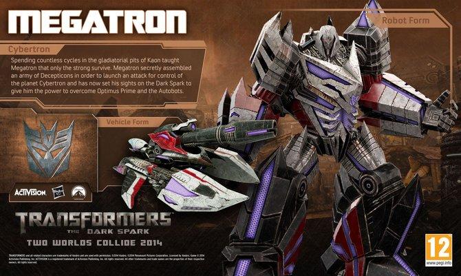 Oberböseweicht Megatron von den Decepticons macht euch in Transformers - The Dark Spark wieder das Leben schwer.