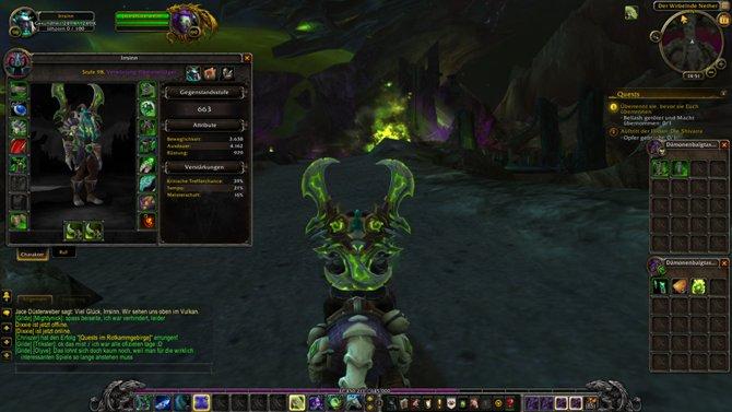 World of Warcraft - Legion: Startet ihr als Dämonenjäger ein neues Spiel, beginnt ihr auf Stufe 98.