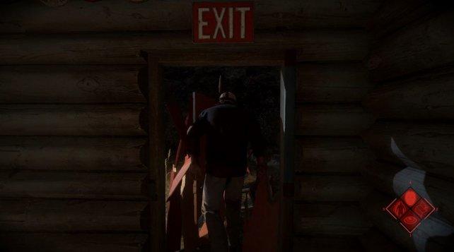 """Im """"Rage""""-Modus durchbrecht ihr Türen mit Links. Auch einige Wände könnt ihr zerstören."""