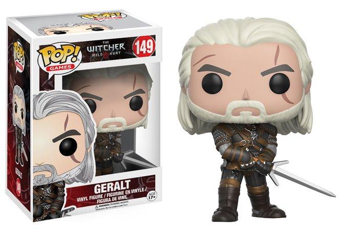 Geralt als Hauptvertreter der Witcher-Reihe und somit natürlich bei den POP!-Figuren nicht zu vergessen.