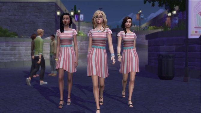 Die Sims 4 - Zeit für Freunde ist draußen.