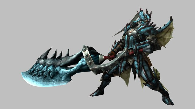 Schwert und Schild in einem: das Großschwert.