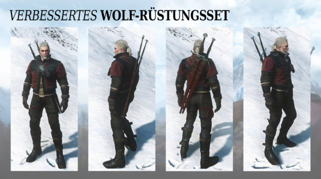 Verbesserte Wolfsschulenausrüstung