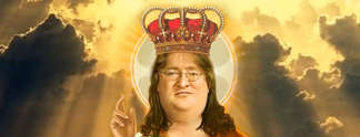 Spielt in Team Fortress 2 den ehrw�rdigen Gabe Newell