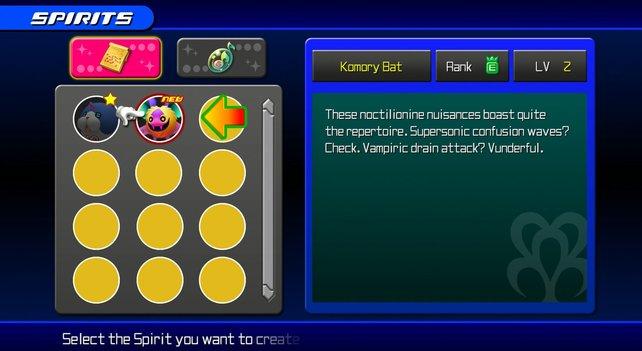 Es gibt 48 Traumfänger, die ihr in Kingdom Hearts - Dream Drop Distance erschaffen könnt.