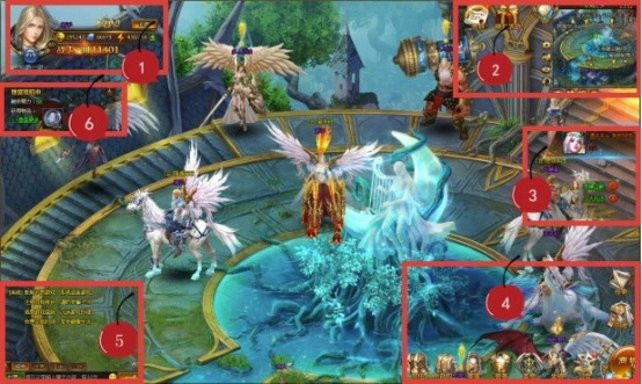 Mit unseren Tipps und Tricks erfahrt ihr alle Informationen zum HUD von League of Angels 2.