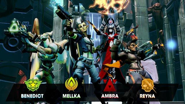 Diese vier neuen Helden wurden auf der Gamescom vorgestellt.
