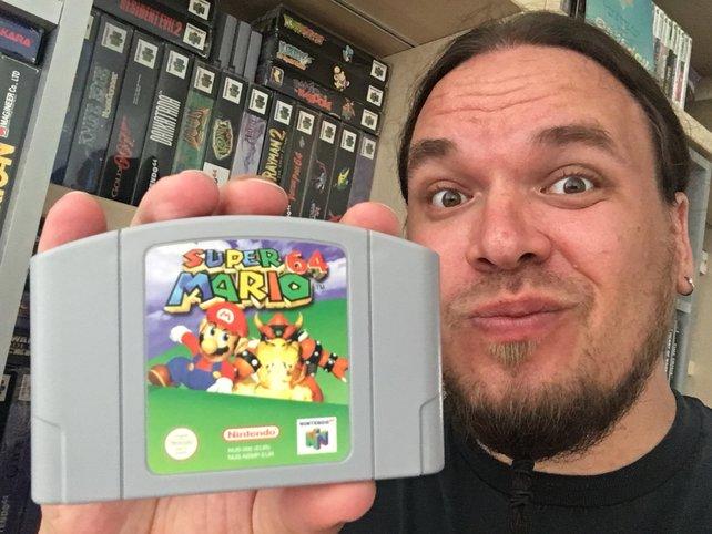 Onkel Jo hält sein erstes N64-Spiel bis heute in Ehren.