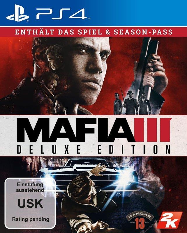 Das Cover der Deluxe Edition von Mafia 3 inklusive Season Pass.