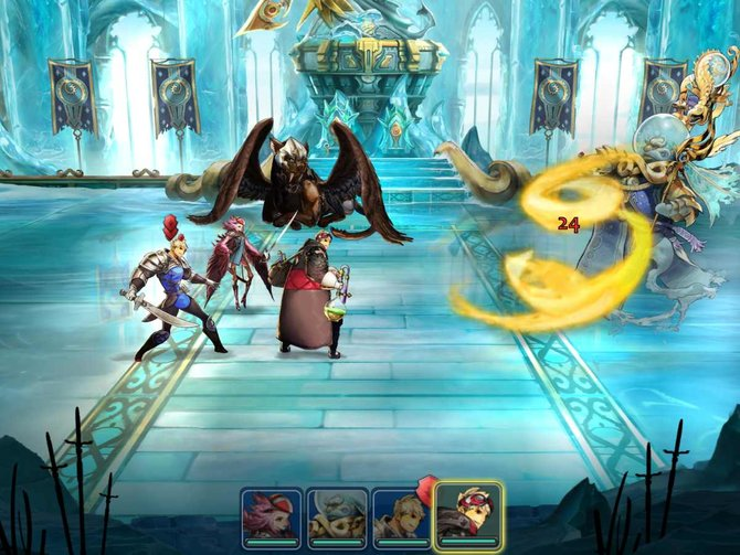 Zodiac - Orcanon Odyssey bietet rundenbasierende Kämpfe.