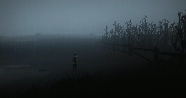In der Nähe des Maisfelds findet ihr das geheime Versteck, das zum geheimen Ende führt.