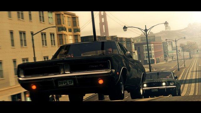 Das Flair von San Francisco wurde großartig eingefangen.