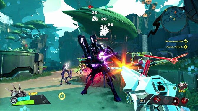 Battleborn bietet eine kooperative Kampagne für fünf Spieler.