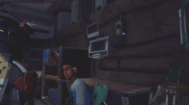 Wenn ihr das kyberntische Implantat herstellt, könnt ihr Alain heilen und die Mission friedlich abschließen.