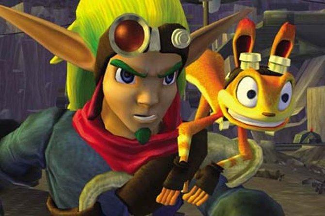 Jak und Kumpel Daxter sind bereit für Abenteuer.