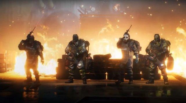 """Die vier Apokalyptischen Reiter im Übergriff """"Drachenhort"""" machen euch die Hölle heiß."""