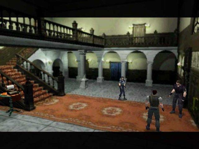 Wie alles begann: Mit Pixelgrafik und polternden Zombiehunden in Resident Evil.