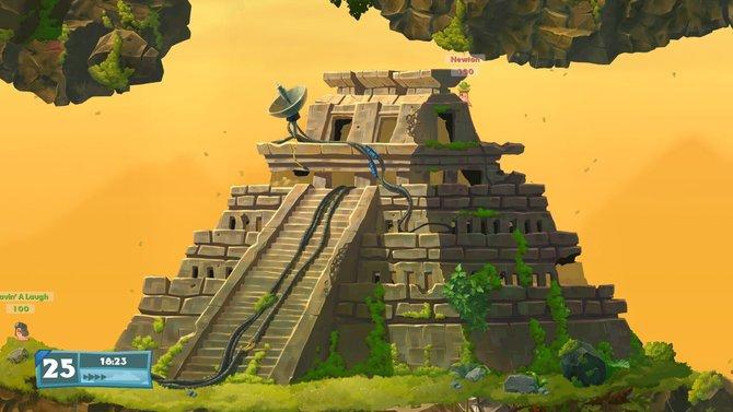 In dieser Pyramide könnt ihr euch bestimmt gut verstecken.