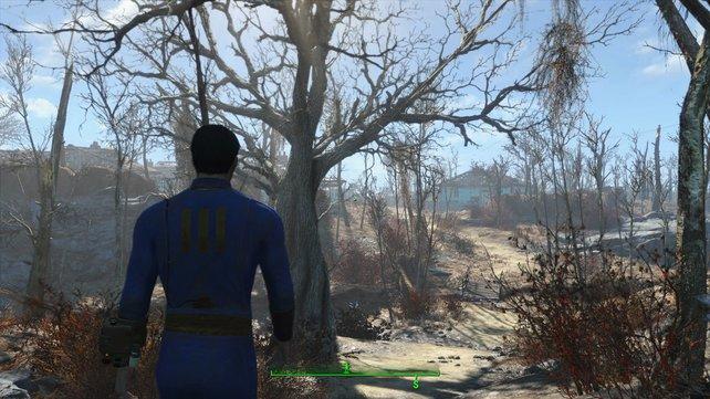 Die große Welt von Fallout 4 in Virtual Reality? Klingt verlockend!