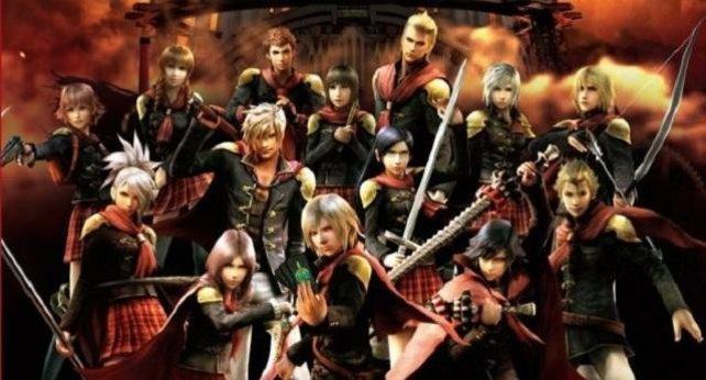 Die 14 Protagonisten von Final Fantasy Type-0 sind nach Spielkarten benannt.