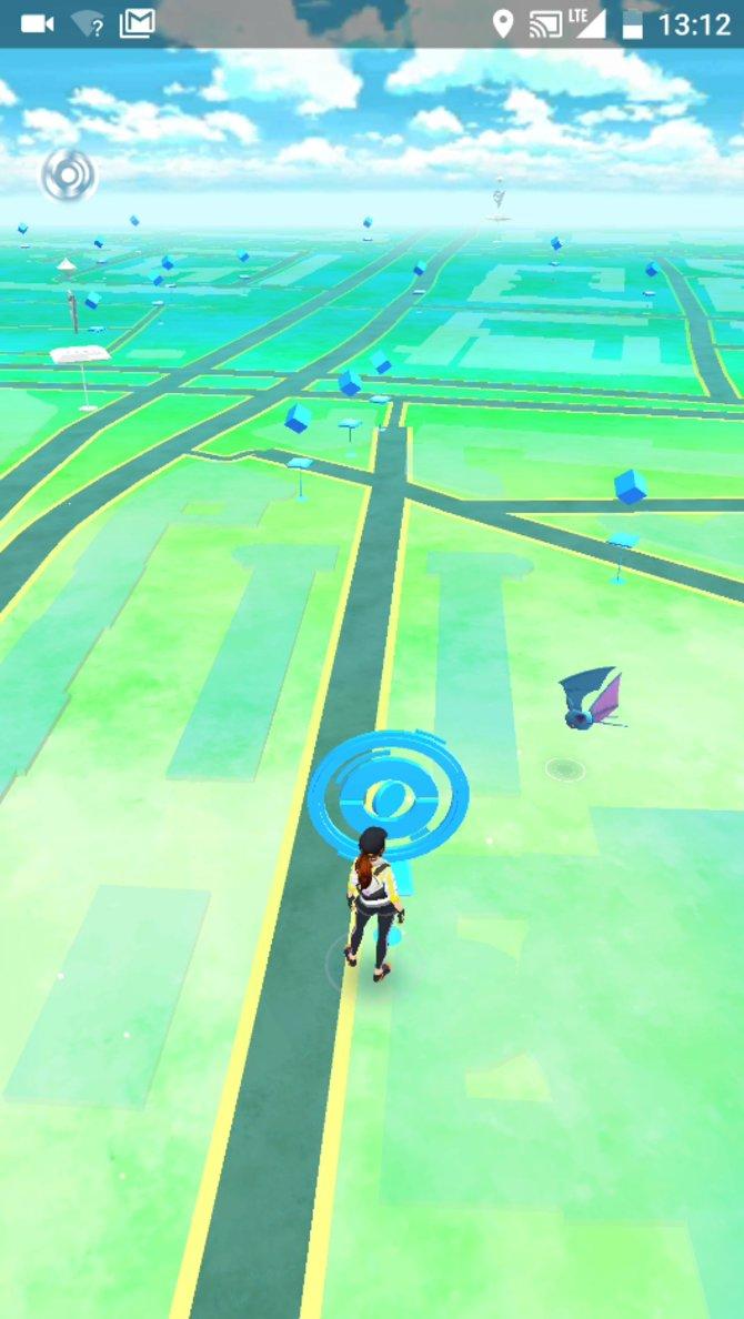 Fangt euch ein Pokémon in der realen Welt.